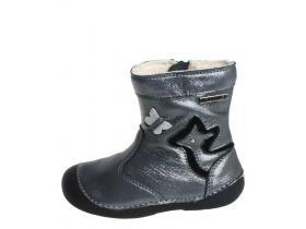 3b28a033e82 DDstep obuv detská zimná DV017-015-125B-OBT Silver