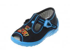 3ae6a16d25 NAZO detská obuv domáca - model 016 modrá Vláčik OŠ N11