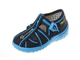 88cddfad5766 NAZO detská obuv domáca - model 024 modrá BALL lopta ZŠ N12