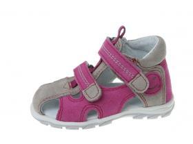 3dd384adc012 Protetika detská ortopedická obuv T- 102-82 ružovo-šedé