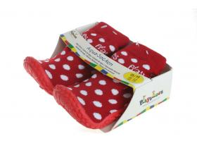 95e3448dc679 Playshoes detská obuv do vody Aqua-Socken 174803 červené bodky