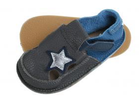3303b7e6a49 Barefoot TIKKI detská obuv - L - CH - STARLIT SKY do č.24