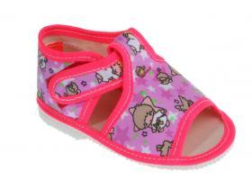 Detská obuv Manik F301-LOŠ-D ružová hviezdy-dievča 6a32212589