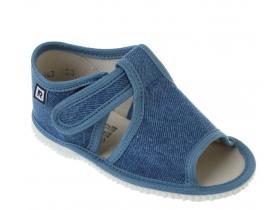 7eeeaded026c2 RAK papučky - detská domáca obuv P 100014-3/JU -LOŠ denim limitovaná edícia