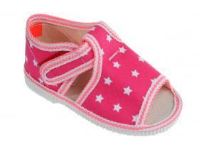 84647884bfad Detská obuv MANIK F311 - LOŠ-D ružová hviezdy