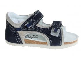 9206e2cef18b Protetika detská ortopedická obuv T-32-99 modrá farba