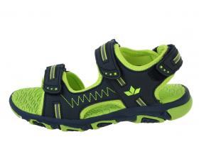 Letné sandále - detská obuv LICO VCL - 470138 marine lemon f87fac99af9