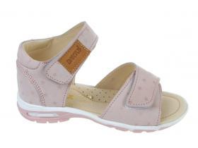 e3306a518d Sandálky BARTUS - detská obuv L - 120 P - nubuk pigi gwiaz č.26-30